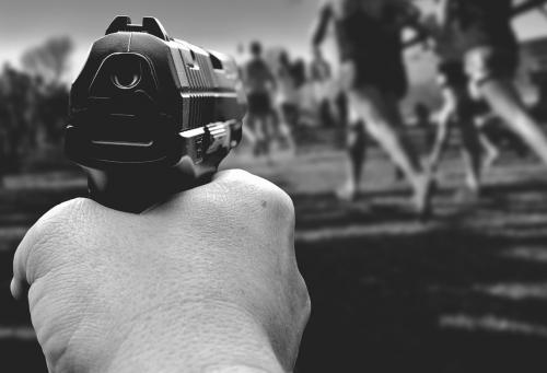 symbol picture gunman rampage