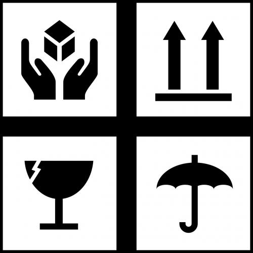 symbols glass hand