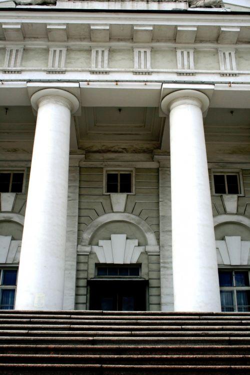Symmetrical Pillars, St Petersburg