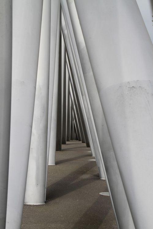 simetrija,simetrija,geometrija,formos,perspektyva,Amsterdamas,architektūra