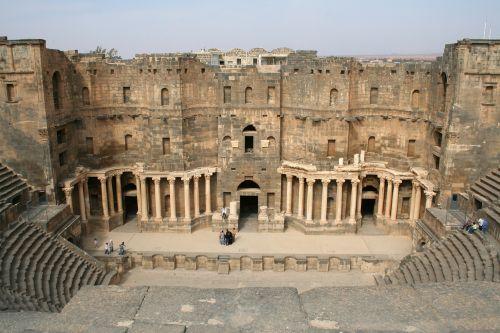 syria bosra amphitheater