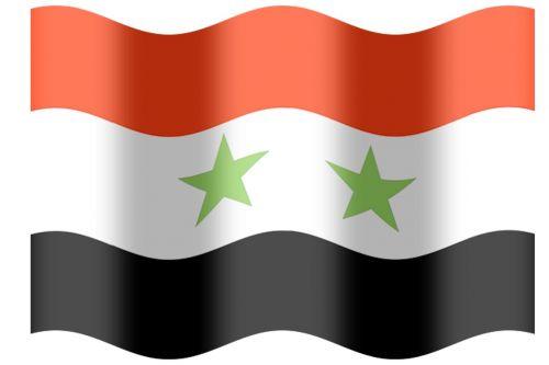 syrian flag arabic