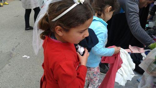 syria refugees children's