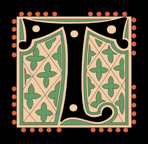 t alphabet vintage