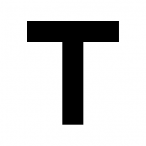 t english letter
