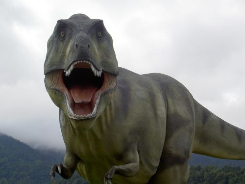 t rex dinosaur park