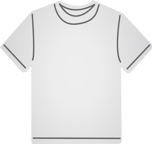 t-shirt white clothes