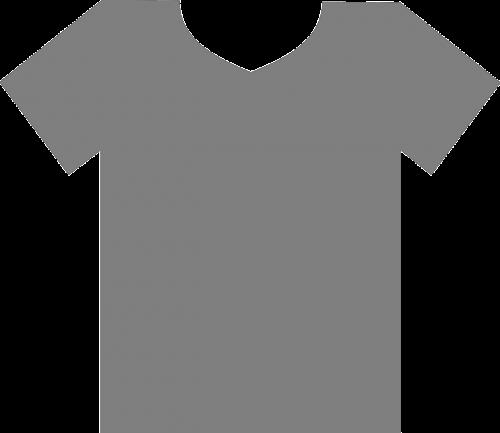 t-shirt gray blank