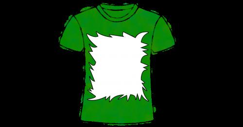 t-shirt art green