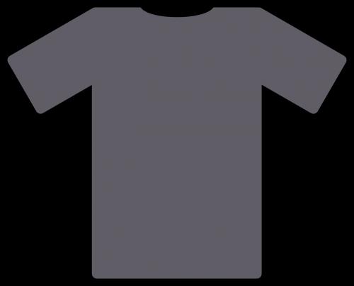 t-shirt grey clothing