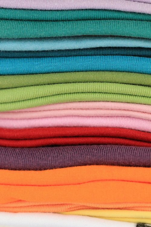 t-shirts colorful color