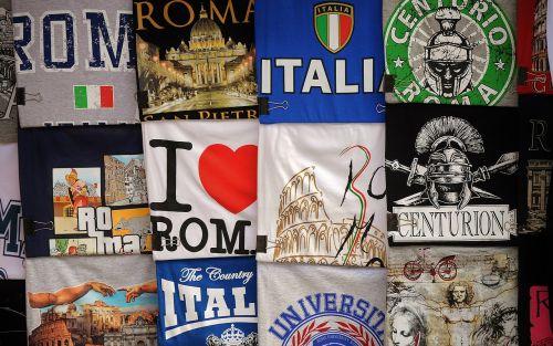 t-shirts italian italy