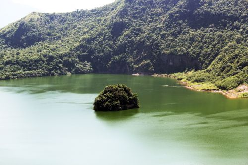 Taal Lake In The Philippines