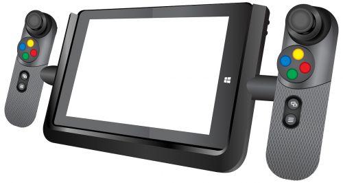 tab game pad tab game