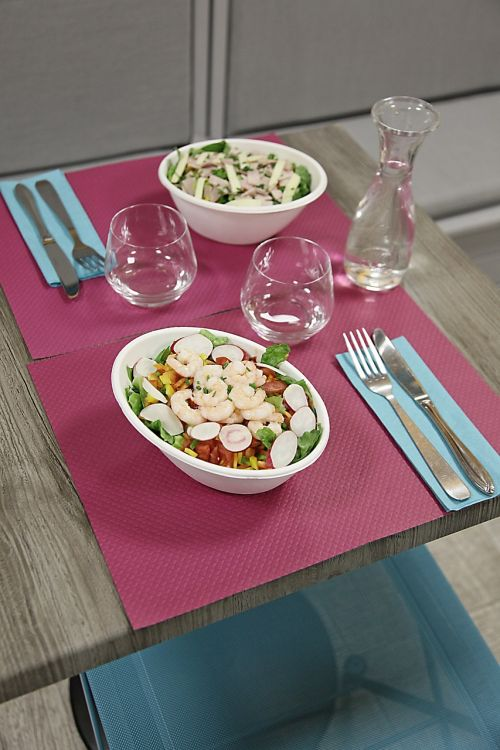 table spring salads