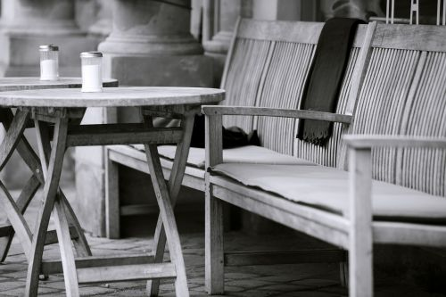 table wood cafe
