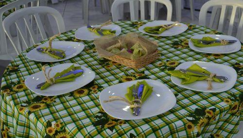 table decoration dinner