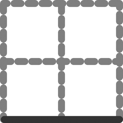 table digital border