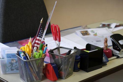 table desk office
