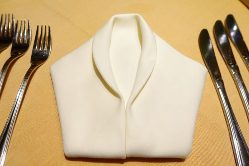 table cover napkin