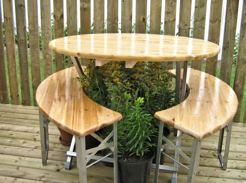 table deck wood