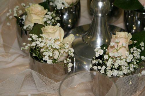 table decoration wedding celebration
