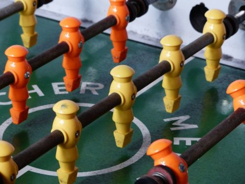table football sport game device