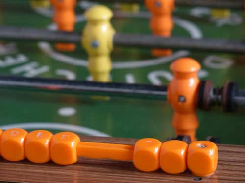 table football counter counting unit