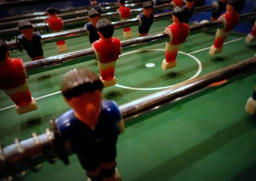 table football kicker foosball table