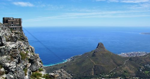 table mountain south africa landscape