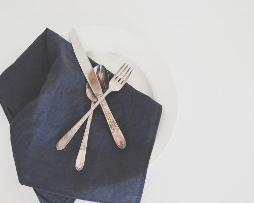 table setting silverware dinner