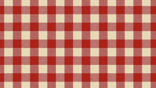 tablecloth wallpaper red checked