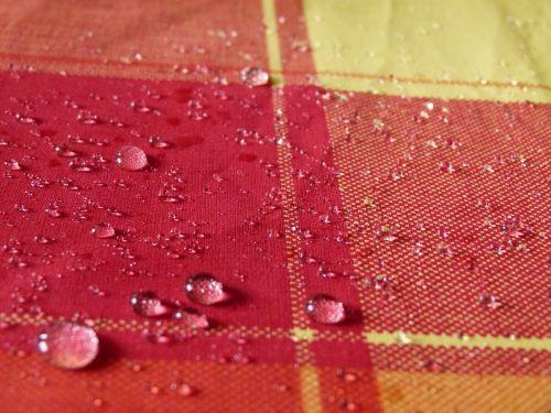 tablecloth tartan droplet