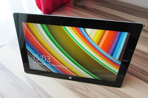 tablet touch screen microsoft
