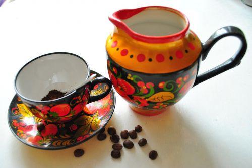 tableware coffee set