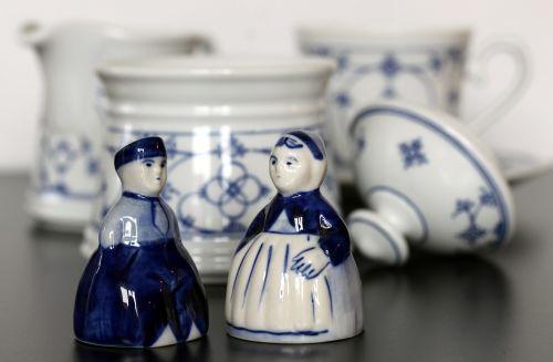 tableware indian blue east frisia