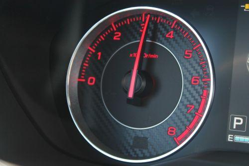 tachometer car arrow