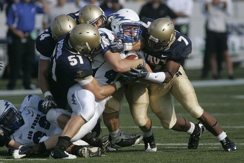 tackle american football ball carrier