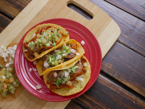 tacos  meat  food
