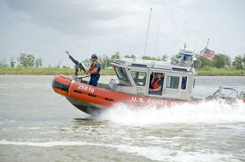 tactical training boat coast guard