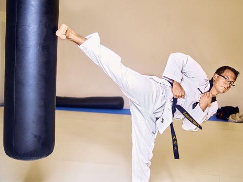 taekwondo fight box