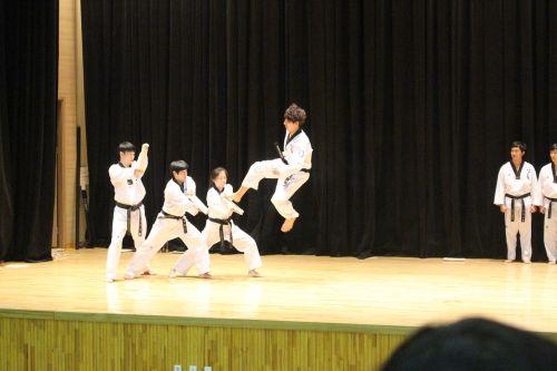 taekwondo kick jump