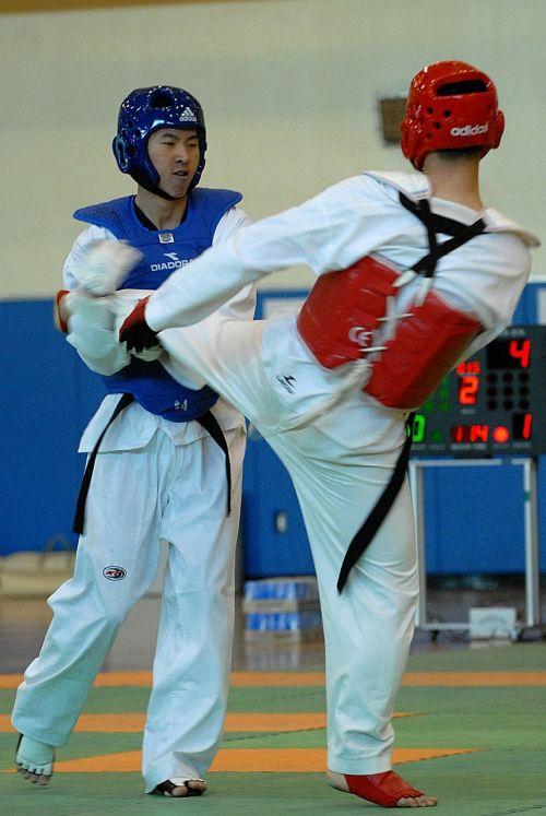 taekwondo sport competition