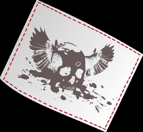 tag bone wings