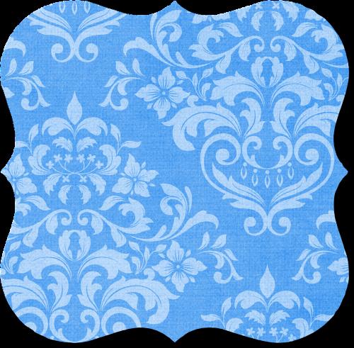 tag blue damask