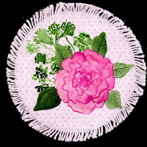 tag rose pink