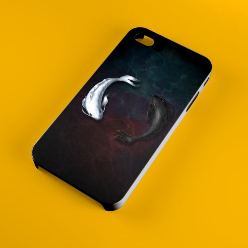 tai chi fish mobile phone shell