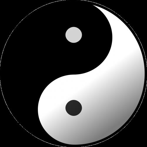 taijitu,yin,Yang,rutulys,bulius,ratas,apvalus,kinai,Kinijos filosofija,filosofija,juoda,balta,taoist taijitu,priešingas,priešingos jėgos,sujungimas,tarpusavyje susijusi,priešingai,nemokama vektorinė grafika