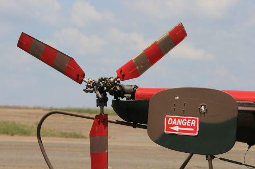 Tail Rotor On Alouette Iii