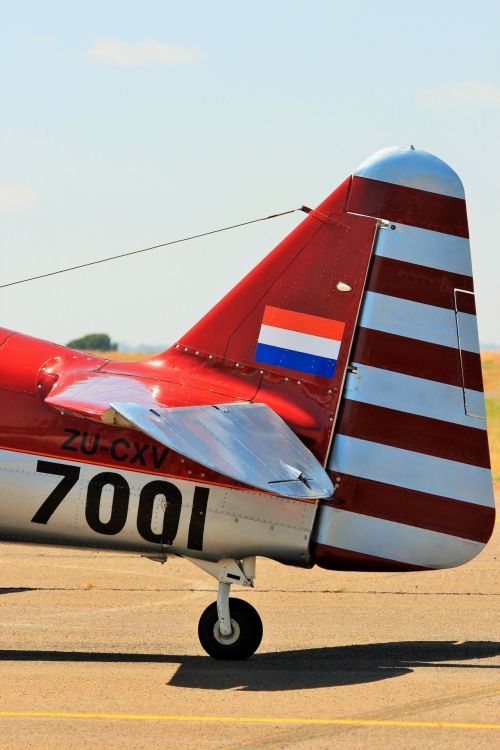 Tailplane Of Inkwazi T6 Harvard
